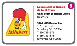 La rôtisserie St-Hubert de Sorel-Tracy