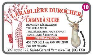 L'Érablière Durocher – Cabane à Sucre