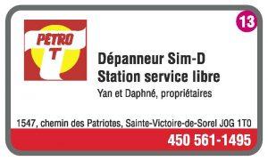 Dépanneur Sim-D Station Service