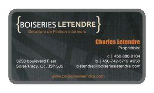 Boiseries Letendre