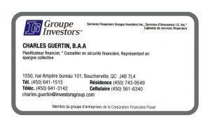 Charles Guertin Groupe Investors