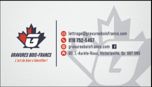 Gravures Bois-Francs