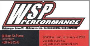 WSP performance