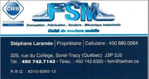FSM soudure