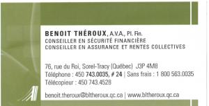 Benoit Théroux A.V.A PI. Fin.